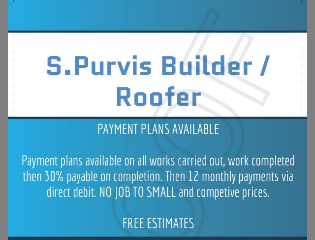 S.Purvis Builder / Roofer