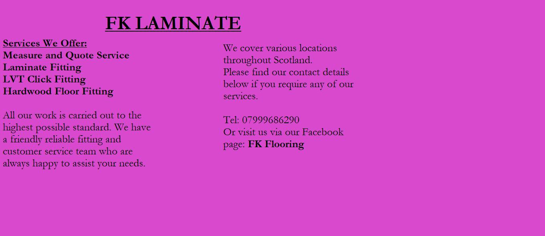 FK Laminate Flooring
